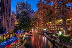 A Christmas Riverwalk