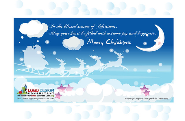 Free E-Cards for Christmas from Logo Design Consultant