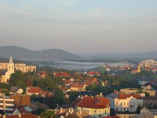 Morning fog at Veszprém  Reggeli köd (2)