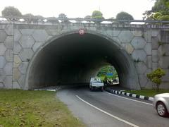 Traffic underpass