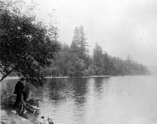 Man in Seward Park, 1913