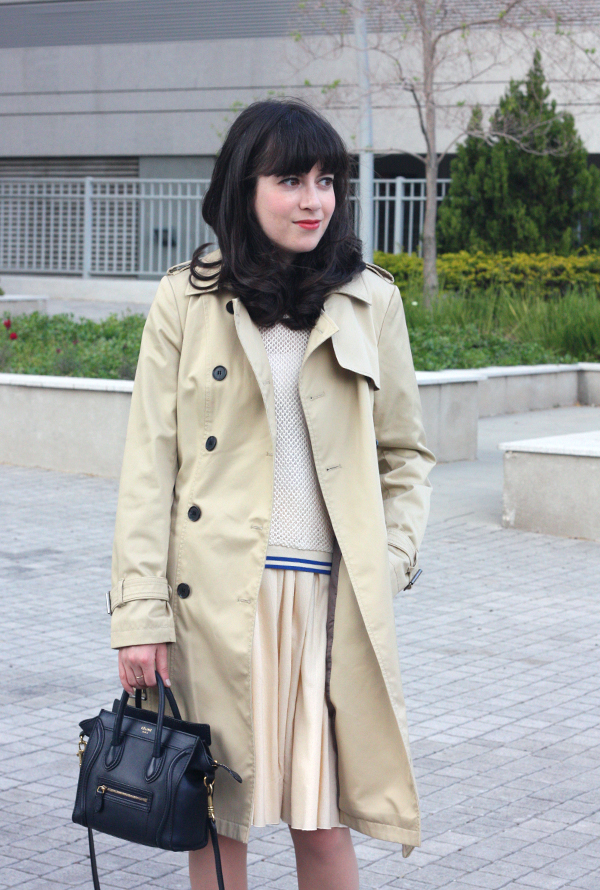 שבוע האופנה תל אביב, תיק סלין, מעיל טרנץ', בלוג אופנה