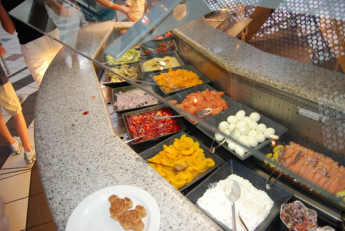 Part of the buffet at Chef Mickey's