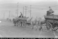 Coal wagons, 1918