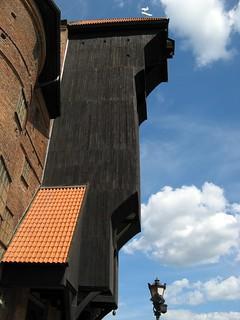 Image of Brama Żuraw. summer poland polska polen 2009 gdansk danzig brama trójmiasto żuraw dreistadt krantor