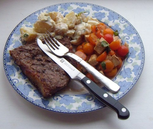 Steak, Tomaters, & 'Taters