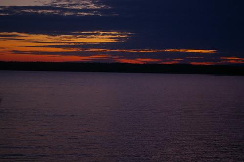 sunset lake maine