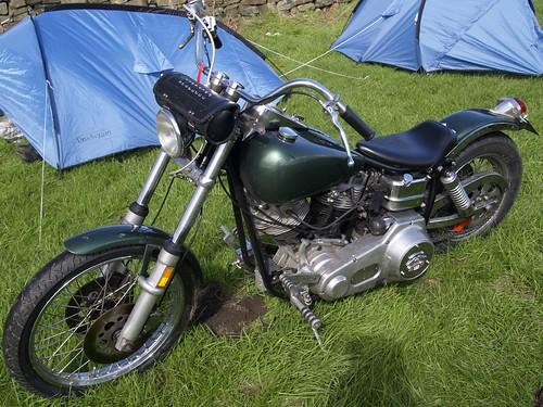 Harley-Davidson Chopper Motorbikes