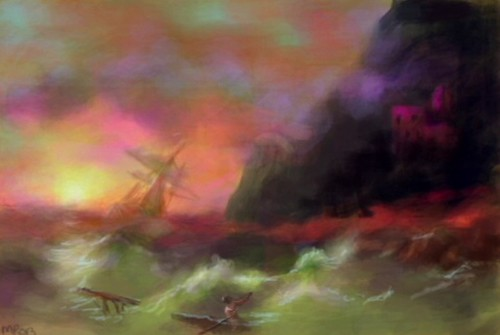 week 29:  for ivan aivazovsky (work in progress)