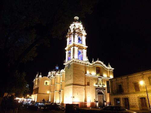 P9220050 Recorrido Nocturno Parroquia de San Pedro Cholula., Puebla por LAE Manuel Vela