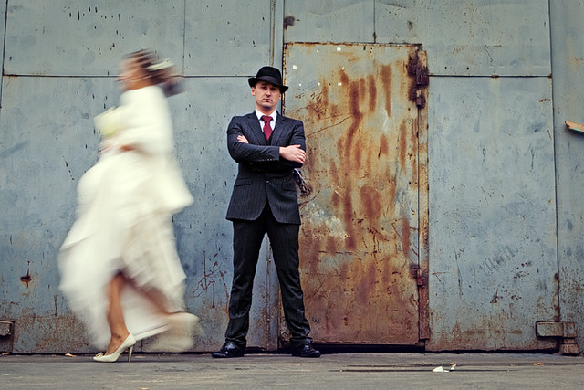 Wedding - Chicago gangsters style