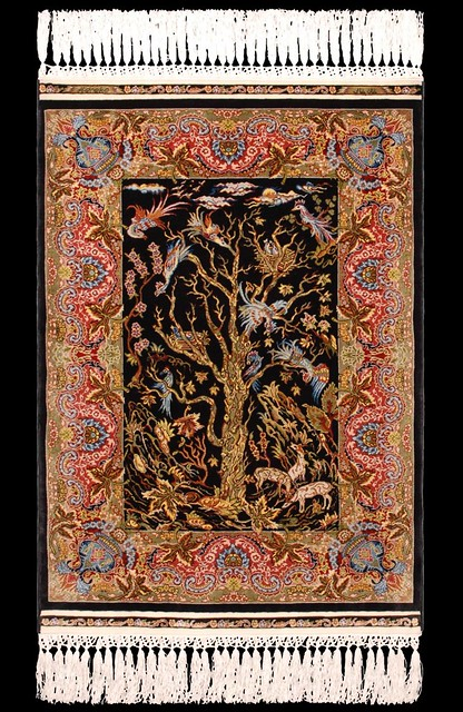 Hereke Silk Carpet Quot Tree Of Life Quot 15 X 15 Flickr Photo