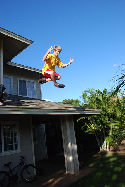 Joe Jumping Off The Roof Flickr Photo Sharing