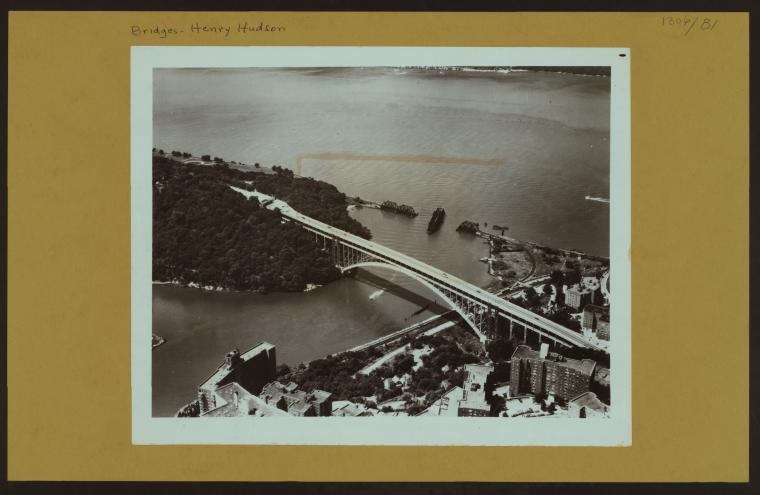 Bridges - Henry Hudson Bridge - [General view of Henry Hudso...