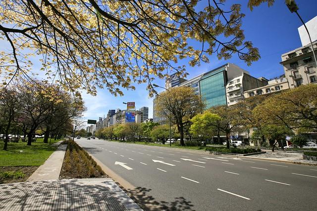 Buenos Aires, Near Plaza de la República (Republic Square)