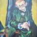 Ludwig Meidner German, 1884–1966 Max Herrmann-Neisse, 1913. Art Inst. Chicago by renzodionigi