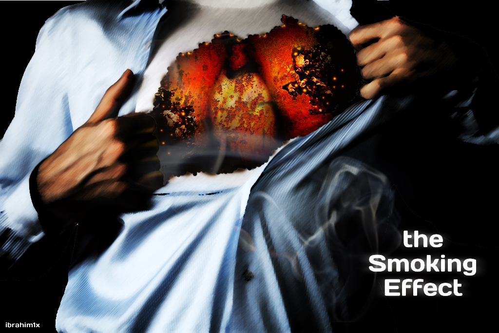 good and bad effects smoking As well as having long-term negative effects on a person's health, smoking also has immediate effects on the body after smoking a cigarette your blood pressure will rise and your heart rate will increase by about 20 beats per minute.