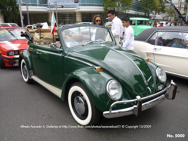 Foto 5,000: Volkswagen Sedán 1300 Cabriolet 1967