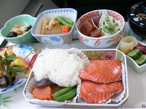 長榮 Hello Kitty 飛機 商務艙餐點