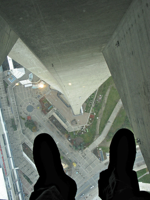 CN Tower Glass Floor View Flickr Photo Sharing