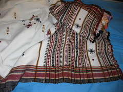 blouse(0.0), dress(0.0), art(1.0), pattern(1.0), textile(1.0), clothing(1.0), maroon(1.0), embroidery(1.0), design(1.0),
