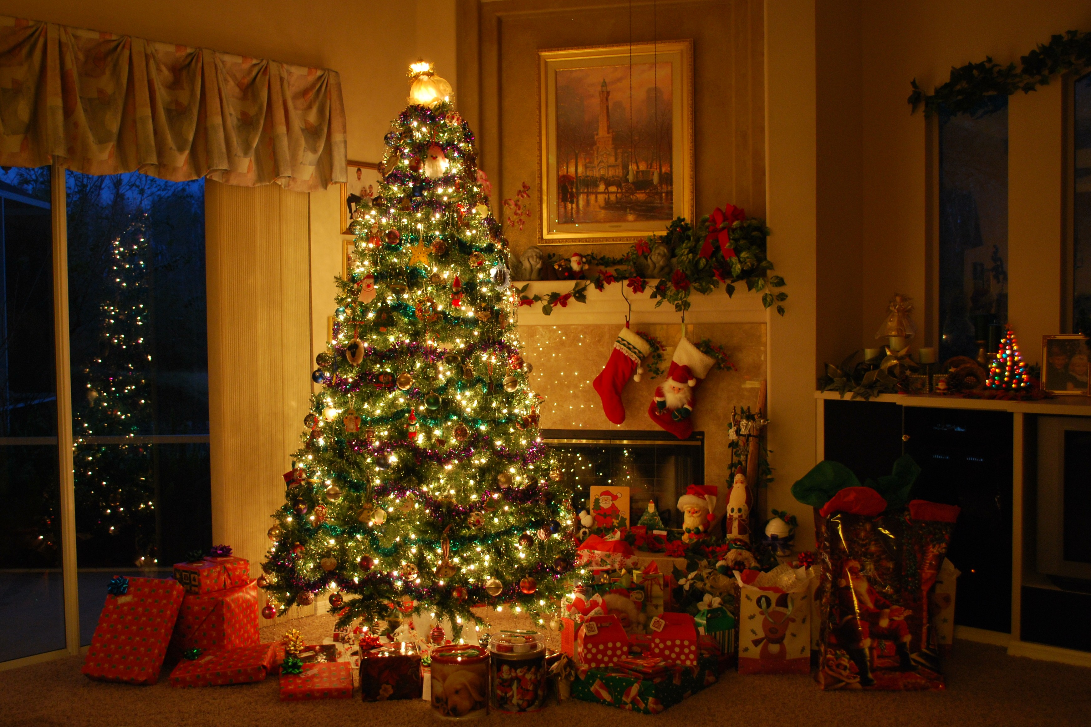 Xmas Inside House Decorations Images