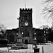 Guisborough Church & War Memorial B&W - DSC_0029095