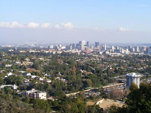Los Angeles Skyline (Downtown in Background)