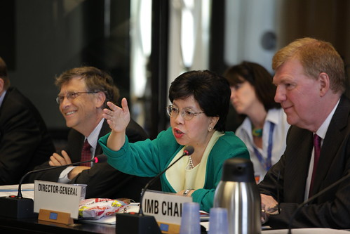 WHO Director General Chan and Bill Gates Lead Discussion on Polio at WHA