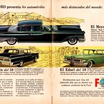 1959 Mercury, Lincoln, and Edsel Ad (South America)