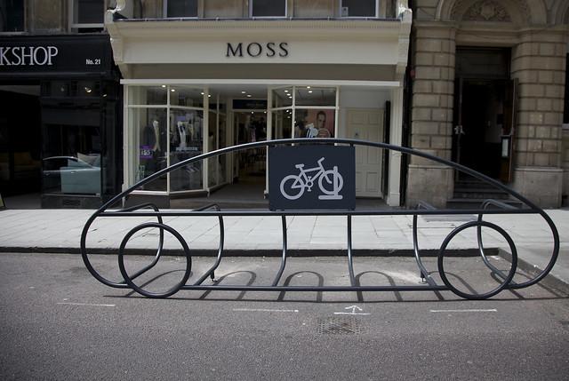 Bath's Cycle Corral