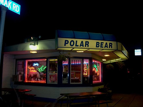 The Polar Bear ice cream drive in restaurant. North Riverside Illinois. Early September 2006. by Eddie from Chicago