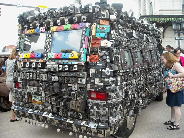Camera Van Back
