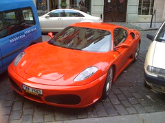 automobile(1.0), vehicle(1.0), performance car(1.0), automotive design(1.0), ferrari f430 challenge(1.0), ferrari f430(1.0), ferrari 360(1.0), land vehicle(1.0), luxury vehicle(1.0), supercar(1.0), sports car(1.0),