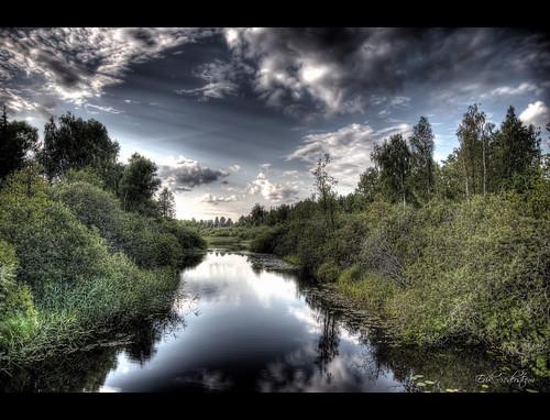light summer water river nikon distillery hdr sörmland d300 1685 södermanland 9xp flen 1685mm flensån