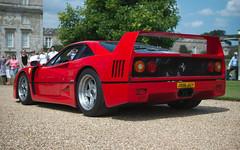 Ferrari F40, Rear