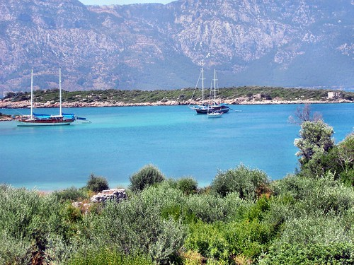 Kleopatra inseln in Marmaris/Türkei