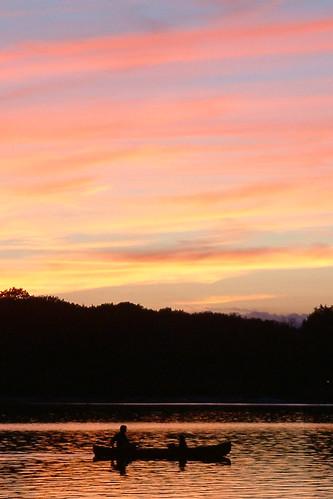 2003 sunset lake boat day weekend labor pa harmony poconos laborday pocono poconomountains lakeharmony lakeharmonypa lakeharmonypoconopa