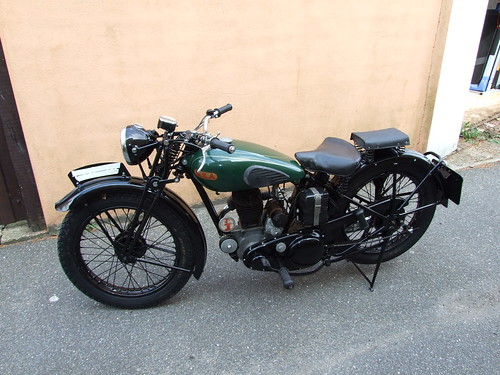 1938 BSA 250 tourer