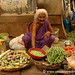 Madurai, India: Woman and Veg
