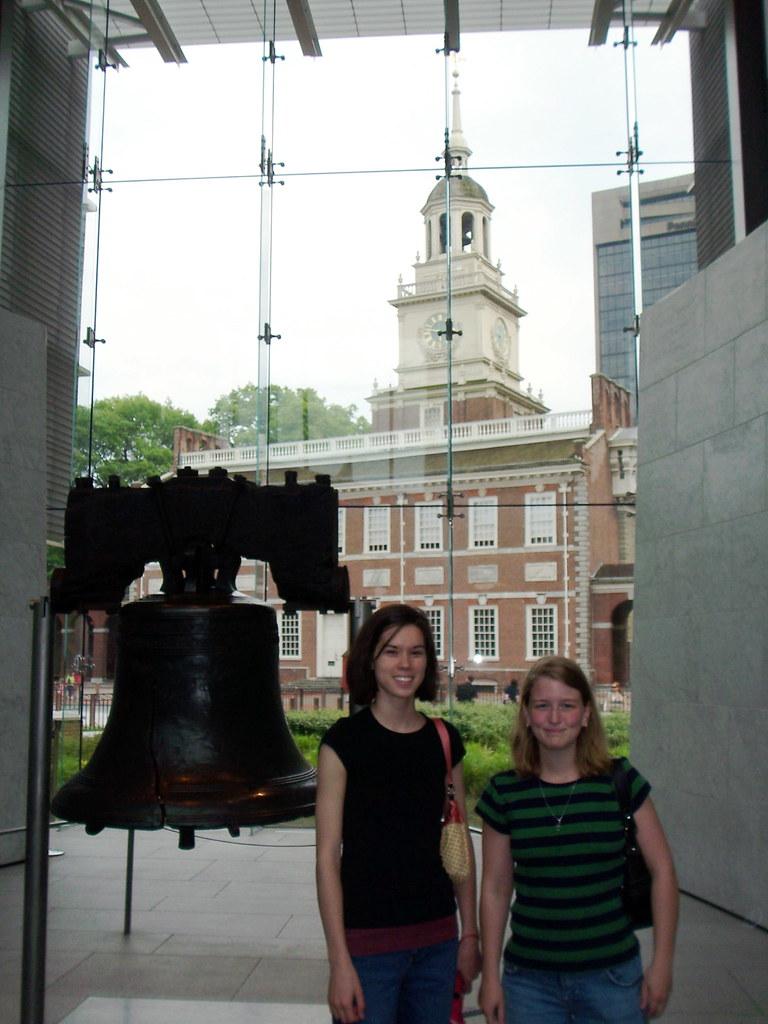 anna, sarah, liberty bell