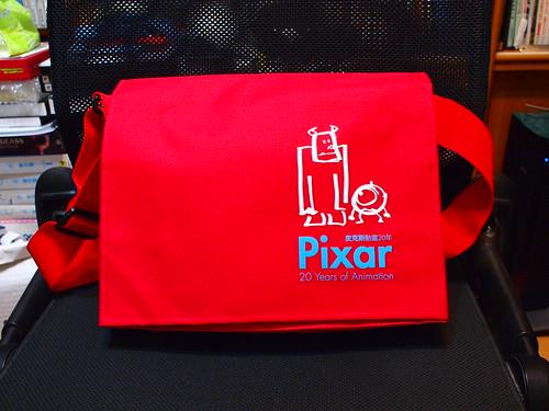Pixar 紅色書包