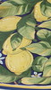 Blu Limoni Plate, by Ceramiche Bartoloni