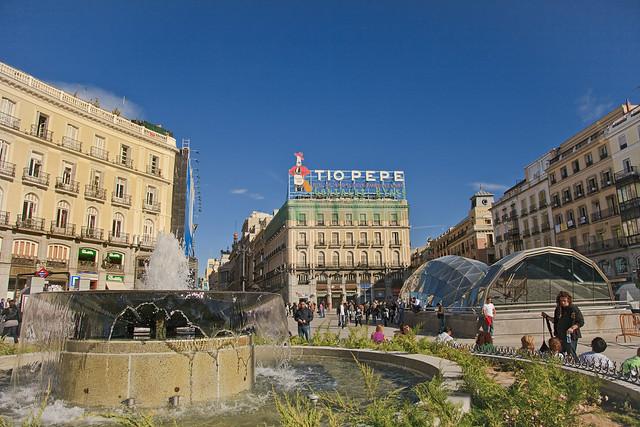 Madrid puerta del sol square spain flickr photo sharing for Puerta de sol madrid