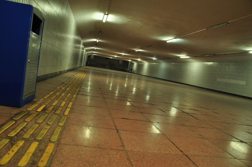 Underground passage in Beijing