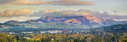 california sunset sky panorama cloud mountain storm fall nature colors landscape lafayette valley freeway diablo walnutcreek concord alamo pleasanthill 680 dinosaurhill
