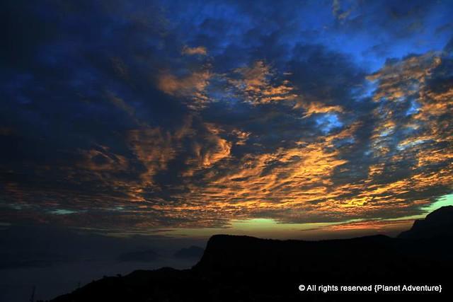 Sunrise at Bandipur - Annapurna Circuit Trek - Nepal