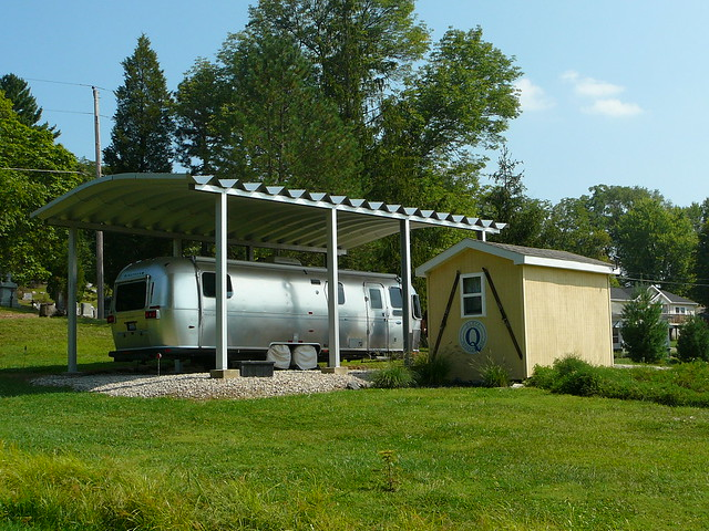 Steelmaster Metal Rv Carport Flickr Photo Sharing