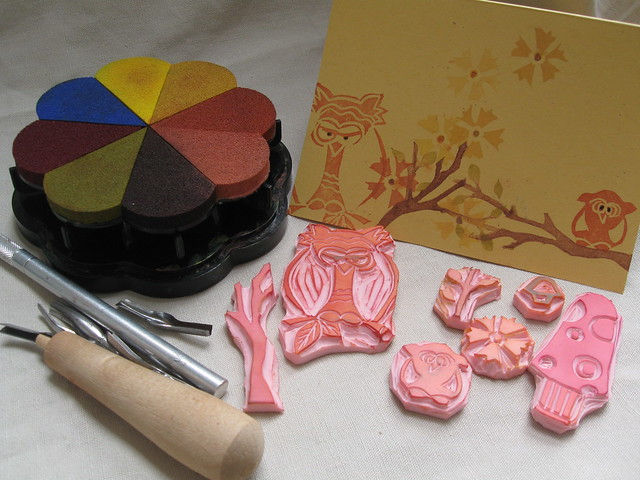 diy craft tutorials how to make handmade rubber stamps make your