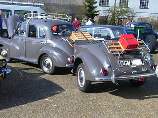 1964 Morris Minor 1000 and matching trailer